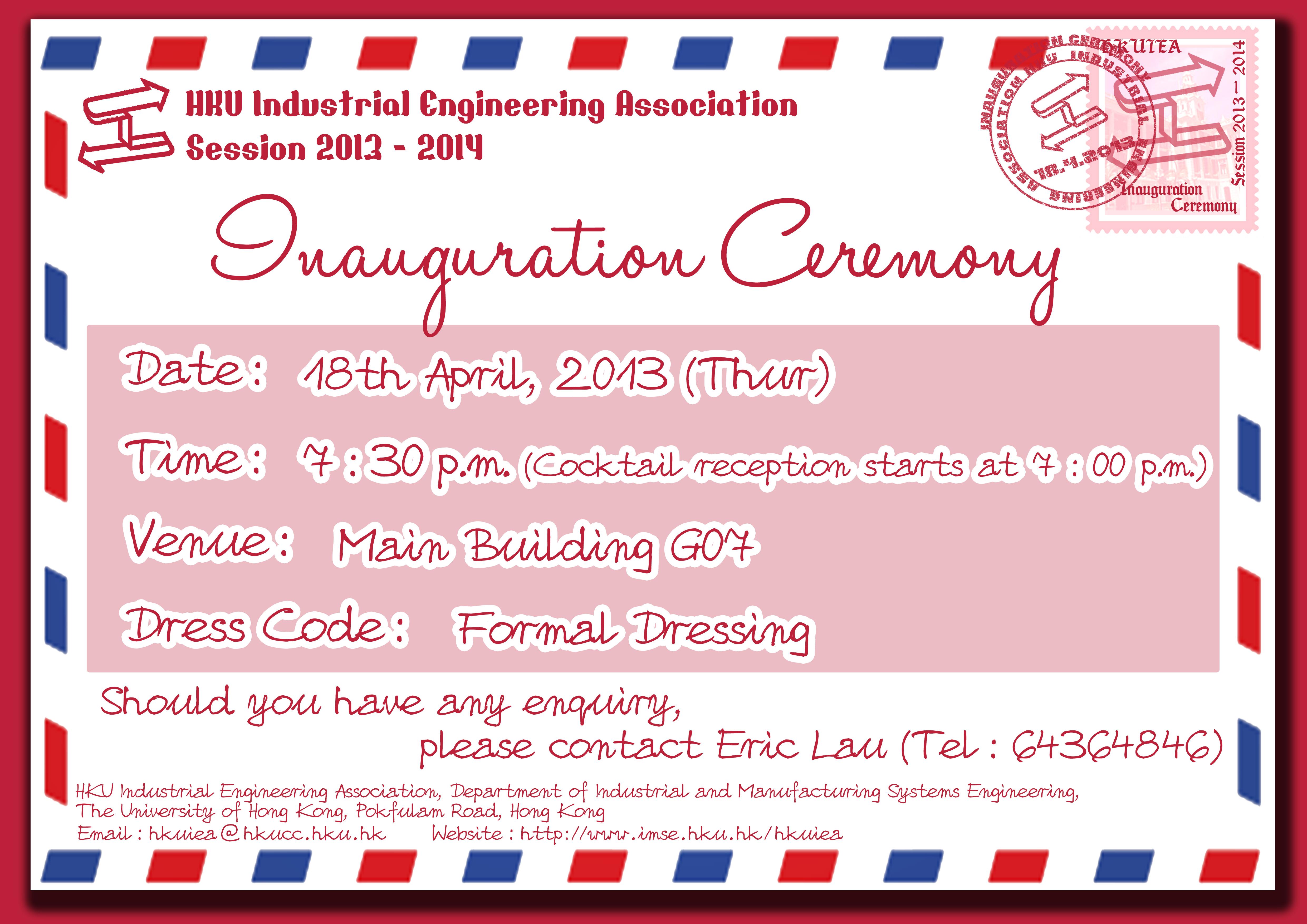 HKU Industrial Engineering Association > Activities > Past ...