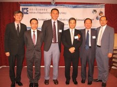 Photo with Ir Prof. Daniel Cheng, MH, JP (3rd from the right), Chairman of Federation of Hong Kong Industries and Managing Director of Dunwell Enviro-Tech (Holdings) Limited