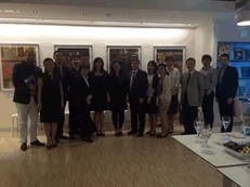 picture of team / teacher / and HKG LV staff after the final presentation